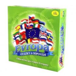 Evropa - otázky a odpovědi - krabice