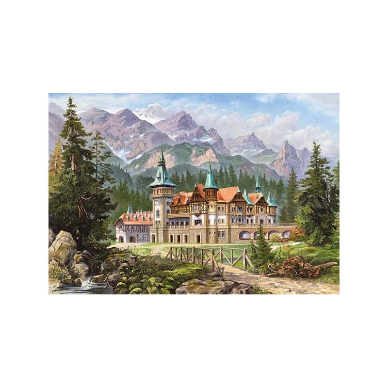 """""""Castle at the Foot of the Mountains"""""""
